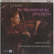 Yehudi Menuhin, Bath Festival Chamber Orchestra, Robert Masters - Bach Brandenburg Concertos