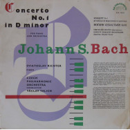 Sviatoslav Richter, Libor Hlavacek, Czech Philarmonic Orchestra - Bach Concerto No.1