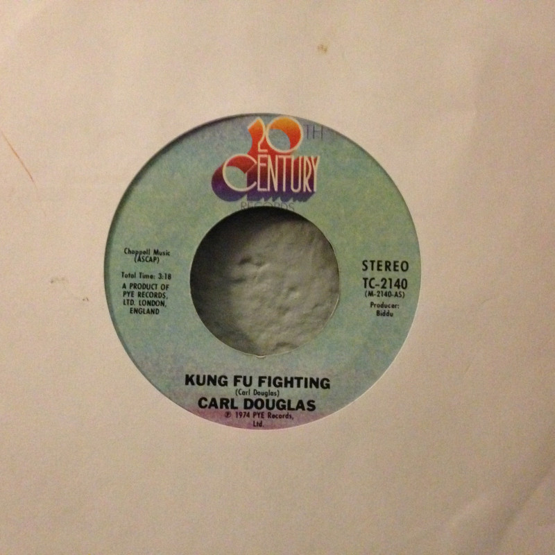 Carl Douglas - Kung Fu Fighting / Gamblin' man