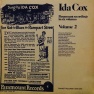 Ida Cox - Paramount Recordings in six Volumes, Volume 2